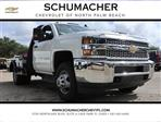 2019 Silverado 3500 Regular Cab DRW 4x4,  CM Truck Beds Platform Body #C92T901 - photo 1