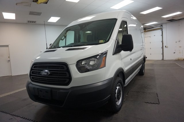 2018 Transit 250 Med Roof 4x2,  Empty Cargo Van #F847830 - photo 6