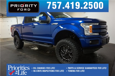 2018 F-150 SuperCrew Cab 4x4,  Pickup #F855360 - photo 1