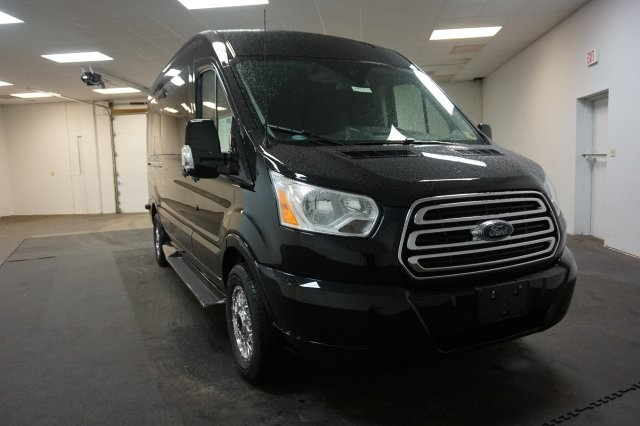 2018 Transit 250 Med Roof 4x2,  Passenger Wagon #F860490 - photo 3