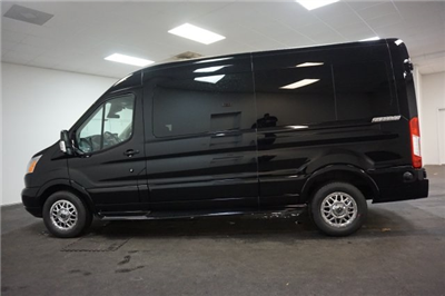 2018 Transit 250 Med Roof 4x2,  Passenger Wagon #F860490 - photo 7