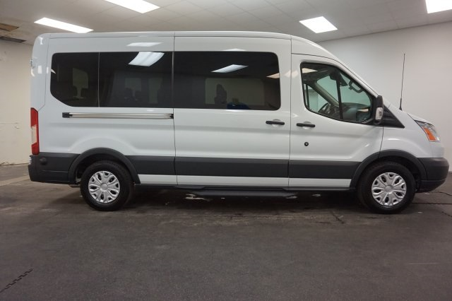 2018 Transit 350 Med Roof 4x2,  Passenger Wagon #F865110 - photo 12