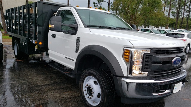 2019 Ford F-550 Regular Cab DRW 4x2, Freedom Stake Bed #193572 - photo 1