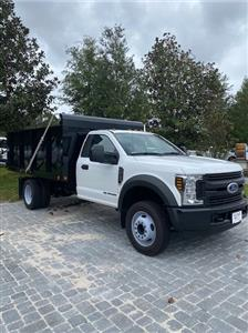2019 Ford F-550 Regular Cab DRW 4x2, Freedom Canyon Dump Body #193790 - photo 1