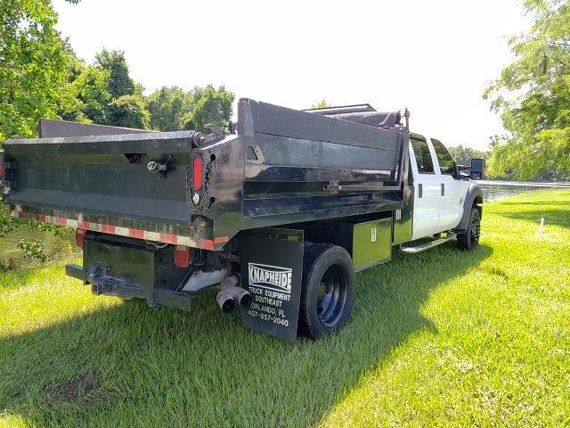 2012 Ford F-550 Crew Cab DRW 4x2, Dump Body #211440A - photo 1