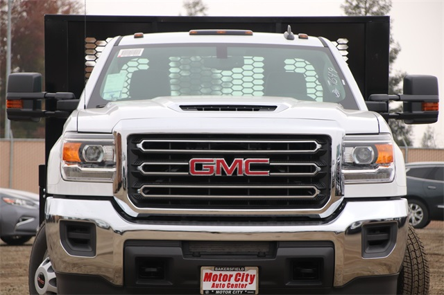 2019 Sierra 3500 Regular Cab DRW 4x2,  Knapheide Platform Body #C19057 - photo 3