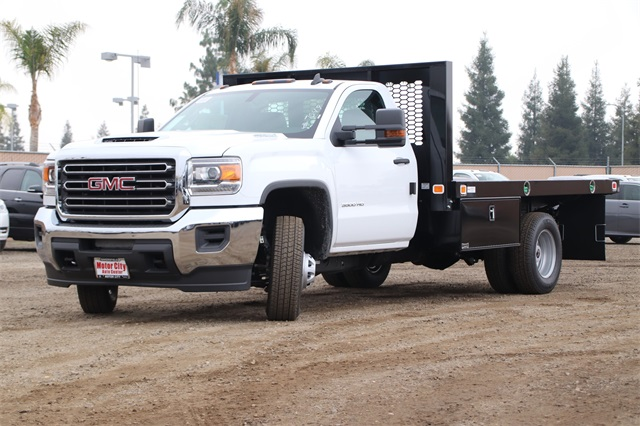 2019 Sierra 3500 Regular Cab DRW 4x2,  Knapheide Platform Body #C19057 - photo 4