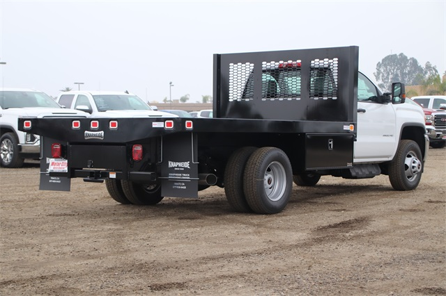 2019 Sierra 3500 Regular Cab DRW 4x2,  Knapheide Platform Body #C19057 - photo 2