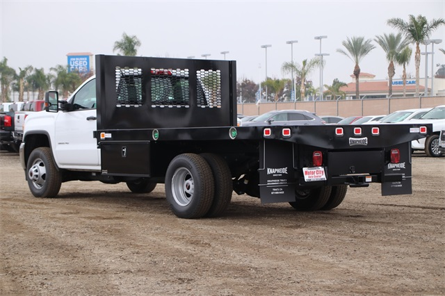 2019 Sierra 3500 Regular Cab DRW 4x2,  Knapheide Platform Body #C19057 - photo 6
