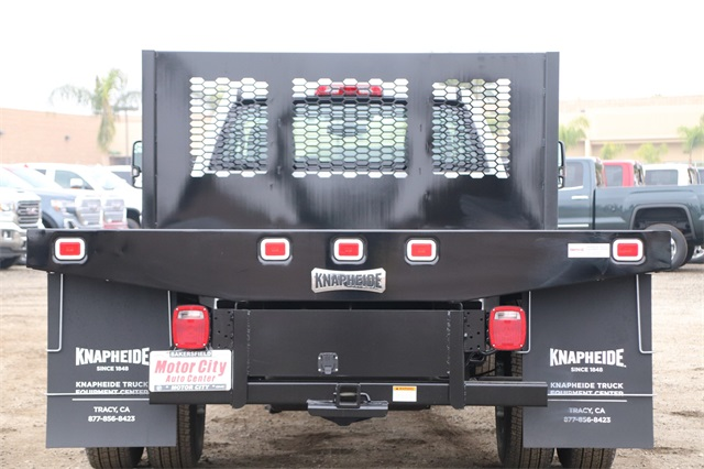 2019 Sierra 3500 Regular Cab DRW 4x2,  Knapheide Platform Body #C19057 - photo 7