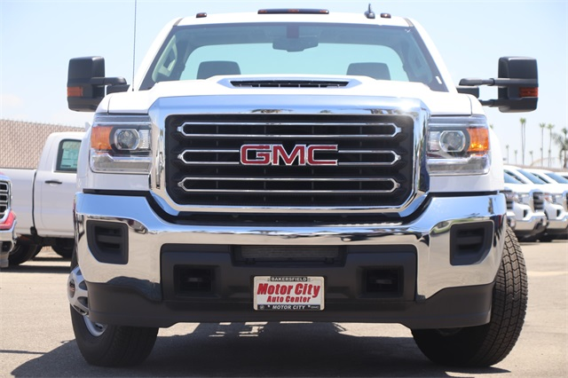 2019 Sierra 3500 Regular Cab DRW 4x2,  Knapheide Platform Body #C19060 - photo 3