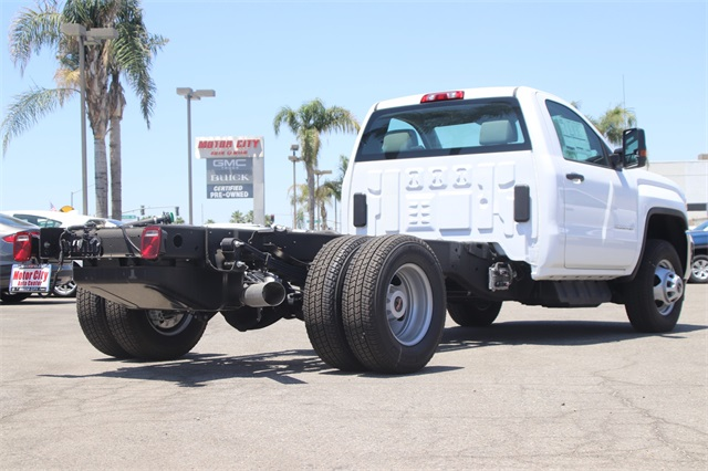 2019 Sierra 3500 Regular Cab DRW 4x2,  Knapheide Platform Body #C19060 - photo 4