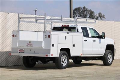2019 Sierra 2500 Extended Cab 4x2, Douglass Service Body #C19186 - photo 2