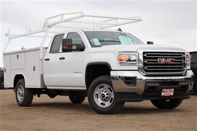 2019 Sierra 2500 Extended Cab 4x2, Harbor TradeMaster Service Body #C19192 - photo 3