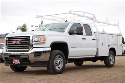 2019 Sierra 2500 Extended Cab 4x2, Harbor TradeMaster Service Body #C19192 - photo 1