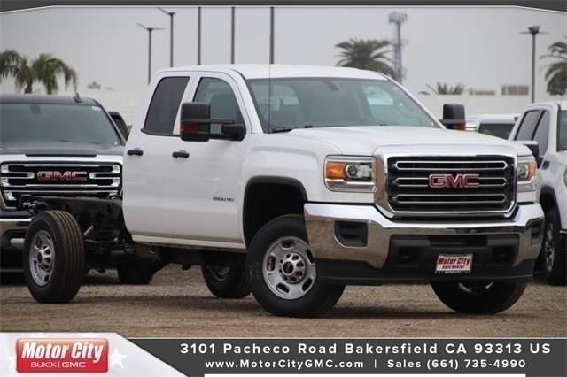 2019 Sierra 2500 Double Cab 4x2, Cab Chassis #C19198 - photo 1