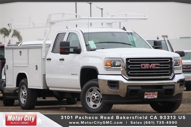 2019 Sierra 2500 Double Cab 4x2, Harbor TradeMaster Service Body #C19208 - photo 1