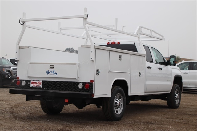 2019 Sierra 2500 Double Cab 4x2, Harbor TradeMaster Service Body #C19208 - photo 2