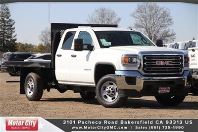 2019 Sierra 2500 Extended Cab 4x2, Harbor Platform Body #C19212 - photo 1