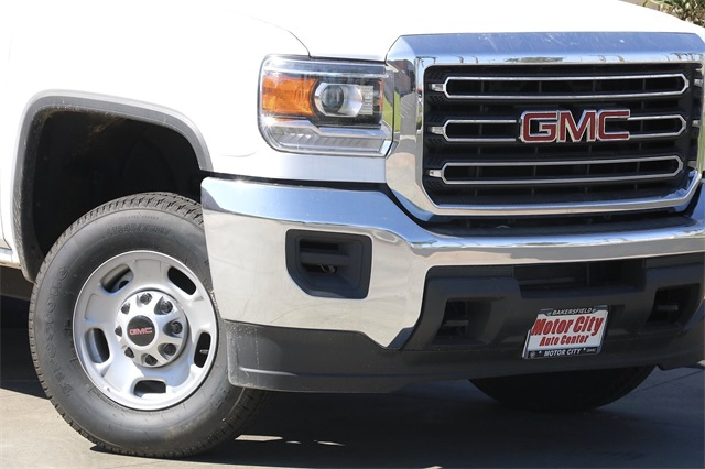 2019 GMC Sierra 2500 Double Cab 4x2, Harbor Black Boss Platform Body #C19213 - photo 5