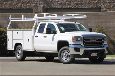 2019 Sierra 2500 Extended Cab 4x2, Harbor Platform Body #C19213 - photo 3