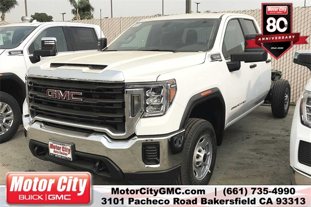 2020 GMC Sierra 2500 Double Cab 4x2, Cab Chassis #C20064 - photo 1