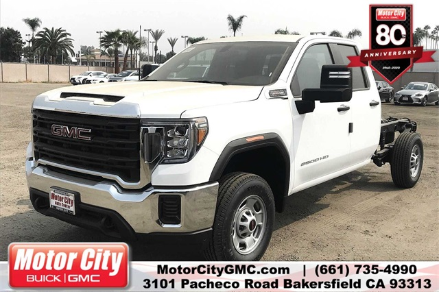 2020 GMC Sierra 2500 Double Cab 4x2, Cab Chassis #C20067 - photo 1