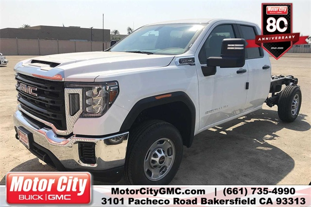 2020 GMC Sierra 2500 Double Cab 4x2, Cab Chassis #C20068 - photo 1