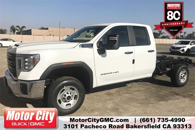 2020 GMC Sierra 2500 Double Cab 4x2, Cab Chassis #C20069 - photo 1