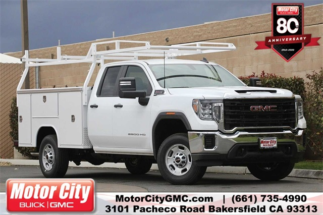2020 GMC Sierra 2500 Double Cab 4x2, Cab Chassis #C20129 - photo 1