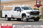 2021 Sierra 3500 Crew Cab 4x4,  Harbor TradeMaster Service Body #C21080 - photo 1