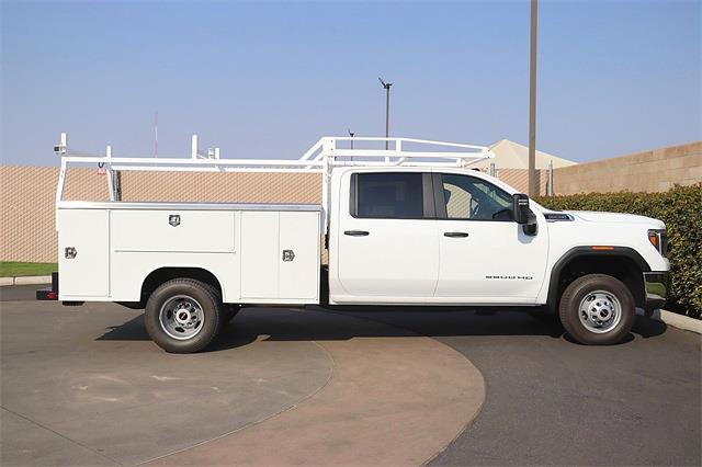 2021 Sierra 3500 Crew Cab 4x2,  Harbor TradeMaster Service Body #C21157 - photo 5