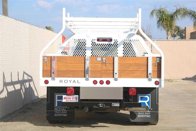 2019 Sierra 3500 Crew Cab DRW 4x2, Royal Contractor Body #G191153 - photo 11
