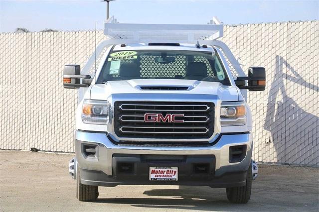 2019 Sierra 3500 Crew Cab DRW 4x2, Royal Contractor Body #G191153 - photo 7