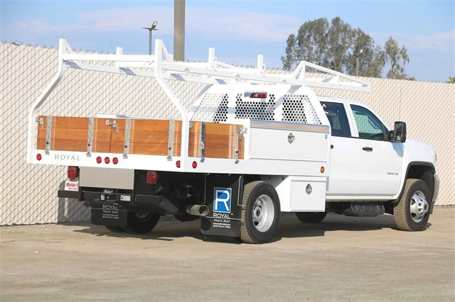 2019 Sierra 3500 Crew Cab DRW 4x2, Royal Contractor Body #G191153 - photo 1
