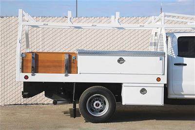 2019 Sierra 3500 Crew Cab DRW 4x2, Royal Contractor Body #G191153 - photo 8