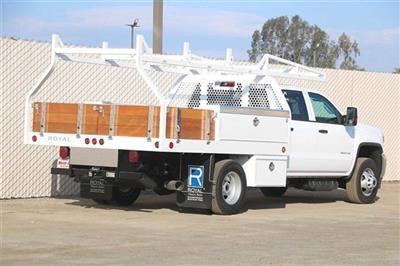 2019 Sierra 3500 Crew Cab DRW 4x2, Royal Contractor Body #G191153 - photo 2