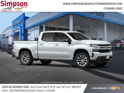 2019 Silverado 1500 Crew Cab 4x2,  Pickup #104346 - photo 4