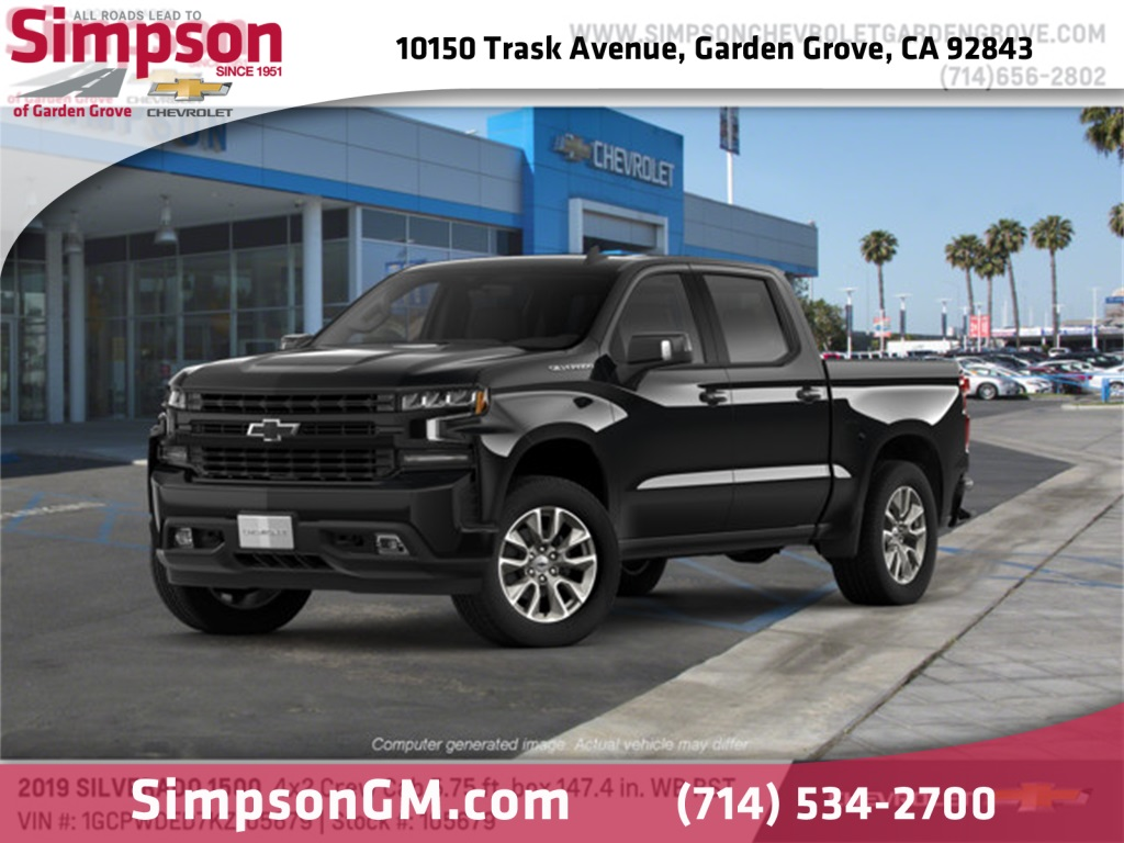 2019 Silverado 1500 Crew Cab 4x2,  Pickup #105679 - photo 1