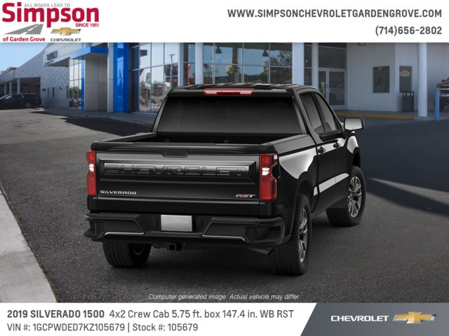 2019 Silverado 1500 Crew Cab 4x2,  Pickup #105679 - photo 3