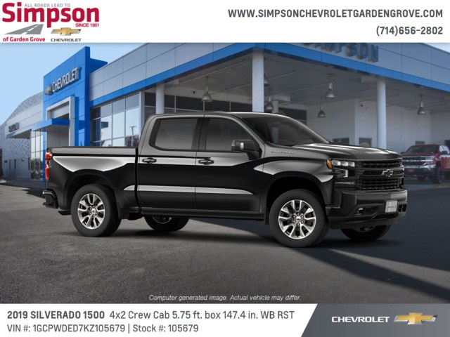 2019 Silverado 1500 Crew Cab 4x2,  Pickup #105679 - photo 4