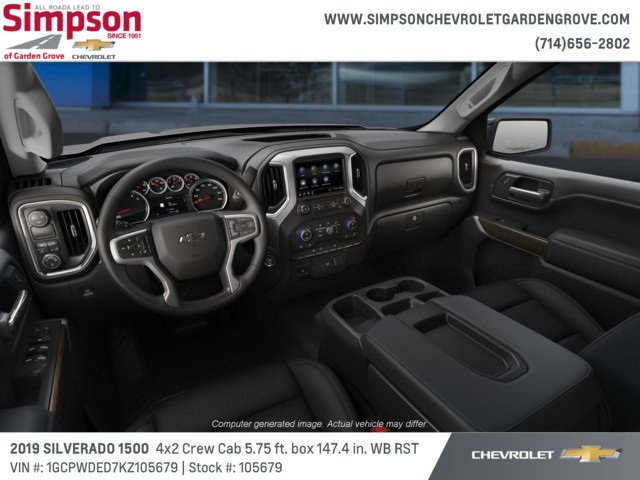 2019 Silverado 1500 Crew Cab 4x2,  Pickup #105679 - photo 5