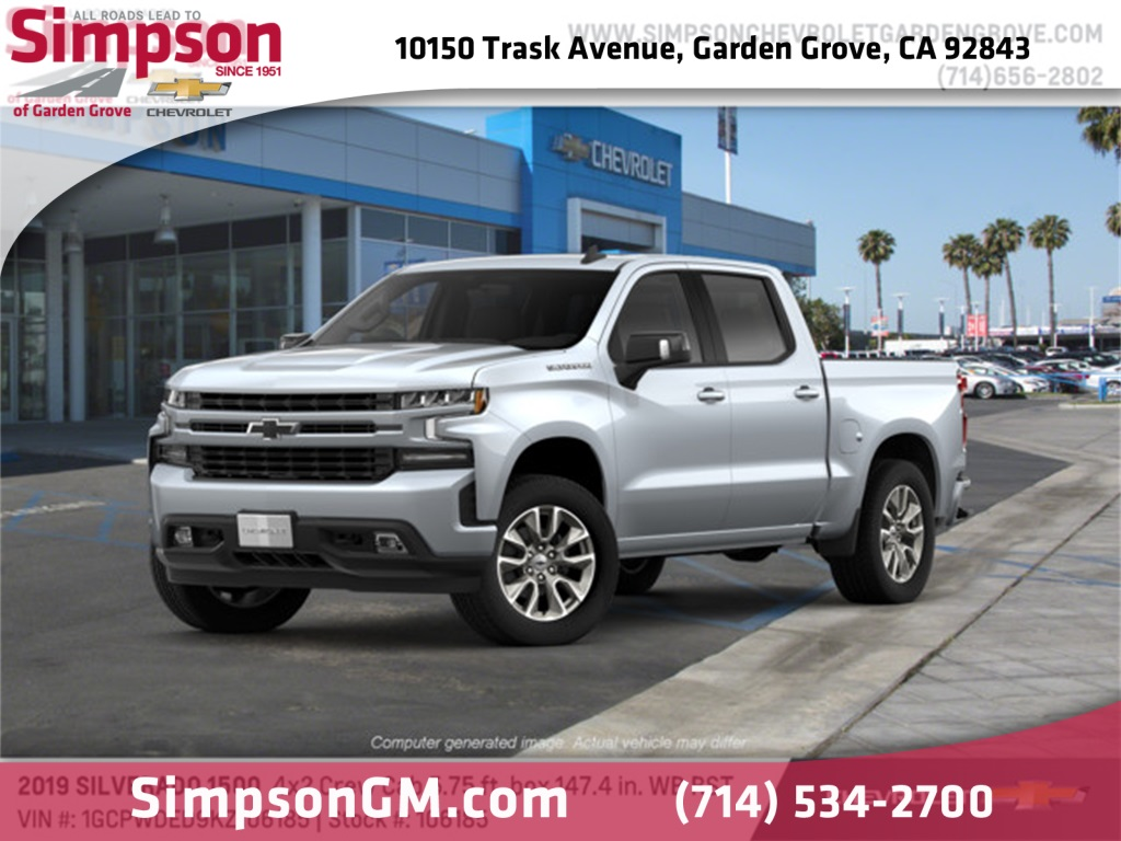 2019 Silverado 1500 Crew Cab 4x2,  Pickup #106185 - photo 1