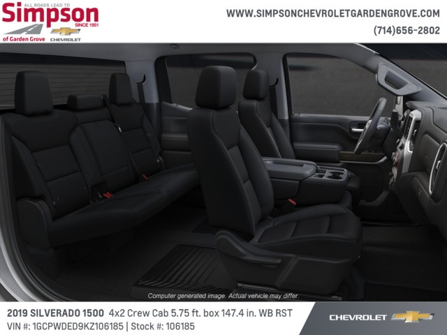 2019 Silverado 1500 Crew Cab 4x2,  Pickup #106185 - photo 6
