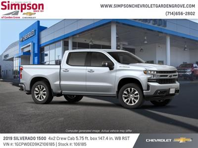 2019 Silverado 1500 Crew Cab 4x2,  Pickup #106185 - photo 4