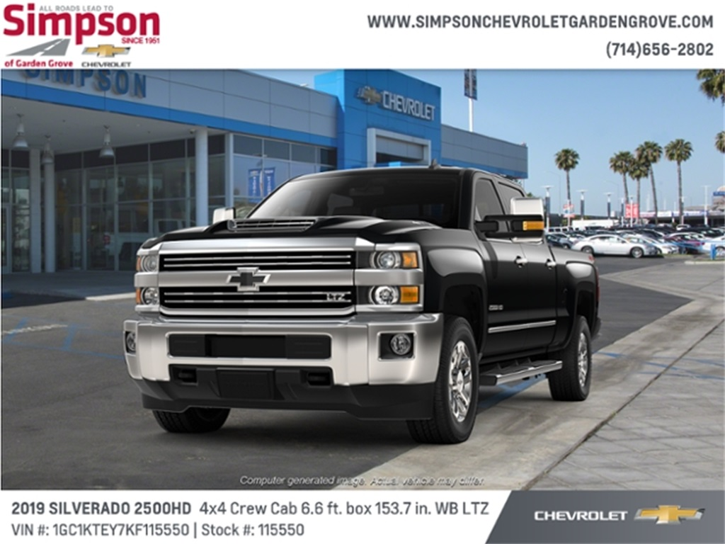 2019 Silverado 2500 Crew Cab 4x4,  Pickup #115550 - photo 1