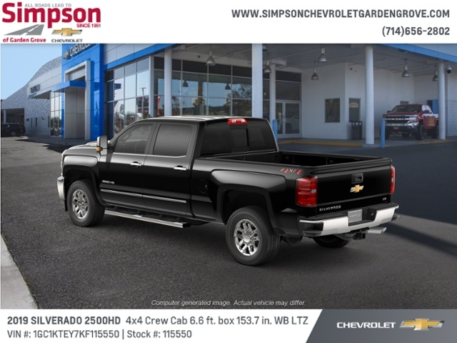 2019 Silverado 2500 Crew Cab 4x4,  Pickup #115550 - photo 2