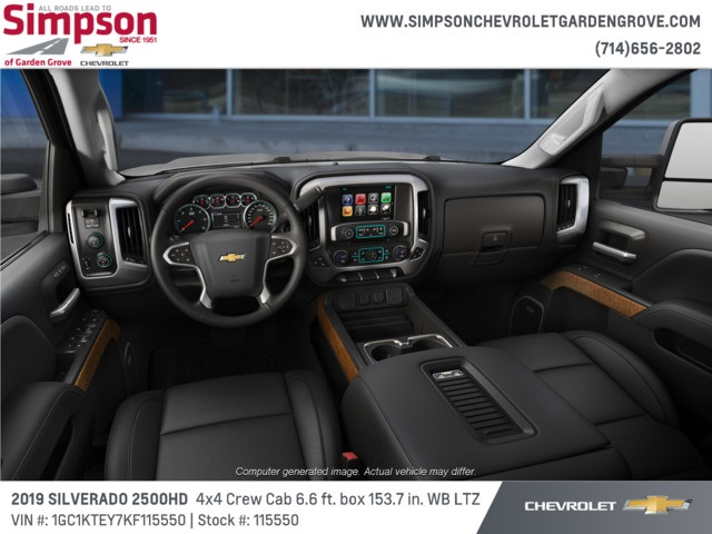 2019 Silverado 2500 Crew Cab 4x4,  Pickup #115550 - photo 5