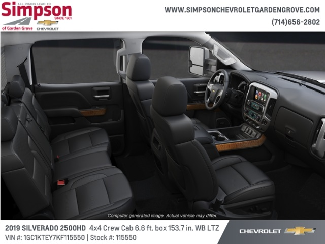 2019 Silverado 2500 Crew Cab 4x4,  Pickup #115550 - photo 6