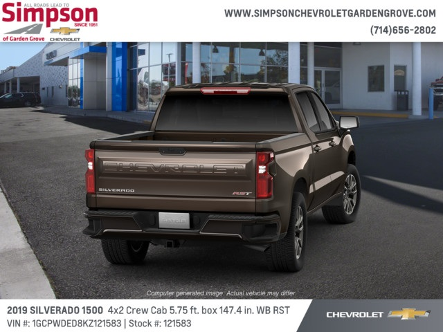 2019 Silverado 1500 Crew Cab 4x2,  Pickup #121583 - photo 3
